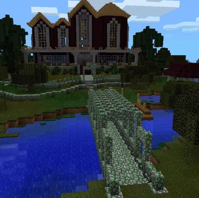The Mansions Map Minecraft Pocket Edition Maps Mods - Minecraft house map