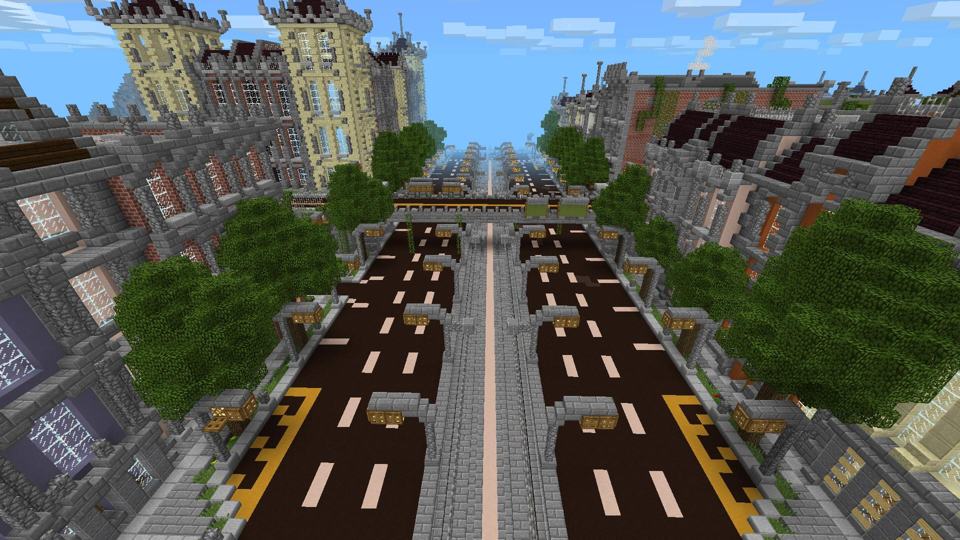 New Silverhills City Minecraft Pocket Edition Maps Mods - Coole maps fur minecraft pe