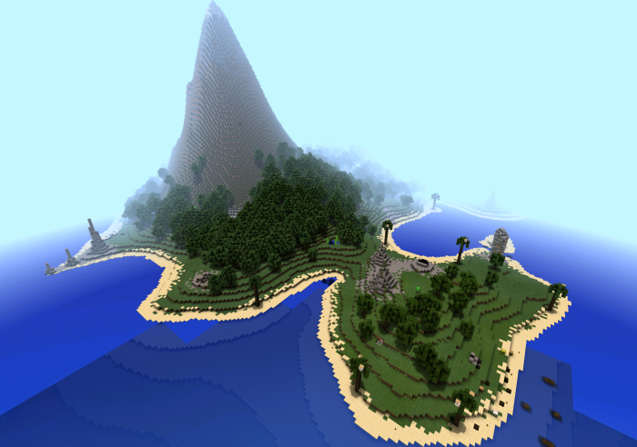 Sunken Island Minecraft Pocket Edition Maps Mods - Coole maps fur minecraft pe