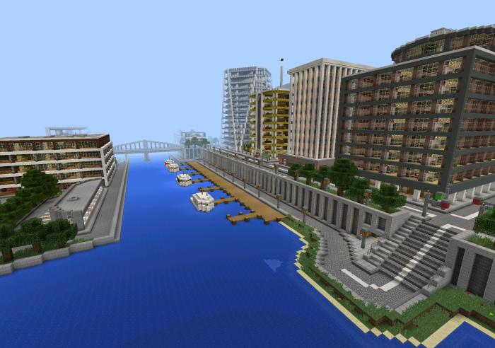 Tazader City Minecraft Pocket Edition Maps Mods - Die besten maps fur minecraft pe