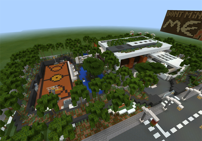 Modern Village Minecraft Pocket Edition Maps Mods - Coole maps fur minecraft pe