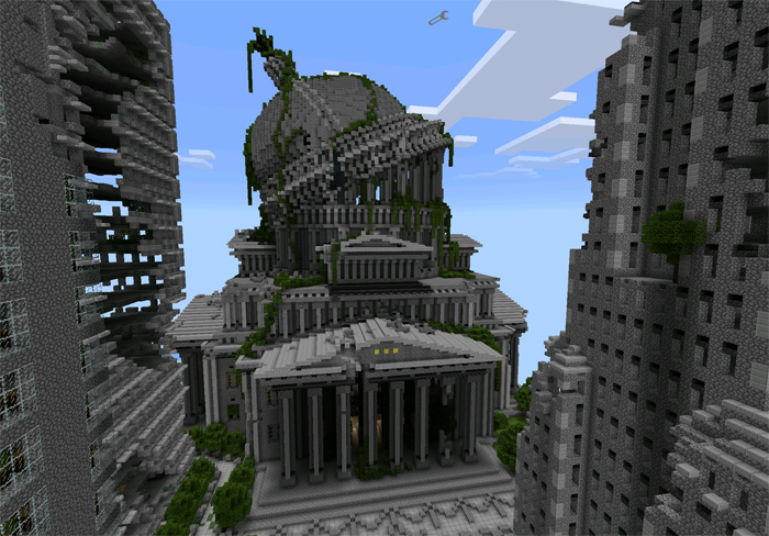Ruined City – Minecraft Pocket Edition Maps & Mods