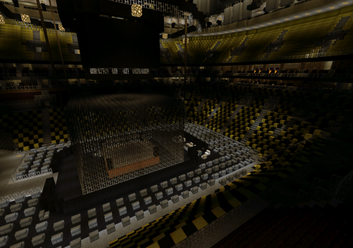 Td Garden Wwe Hell In A Cell Minecraft Pocket Edition Maps Mods