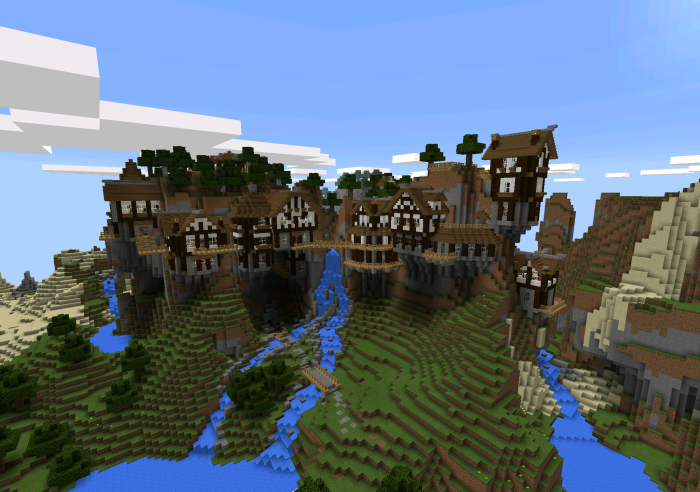 Shearwater Hills Minecraft Pocket Edition Maps Mods